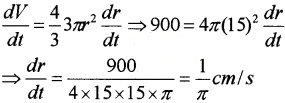 Plus Two Maths Chapter Wise Questions and Answers Chapter 6 Application of Derivatives 4M Q20