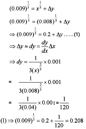 Plus Two Maths Chapter Wise Questions and Answers Chapter 6 Application of Derivatives 4M Q21