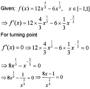 Plus Two Maths Chapter Wise Questions and Answers Chapter 6 Application of Derivatives 4M Q26
