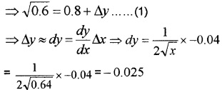 Plus Two Maths Chapter Wise Questions and Answers Chapter 6 Application of Derivatives 4M Q9.1