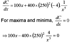 Plus Two Maths Chapter Wise Questions and Answers Chapter 6 Application of Derivatives 6M Q12.1