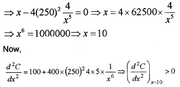 Plus Two Maths Chapter Wise Questions and Answers Chapter 6 Application of Derivatives 6M Q12.2