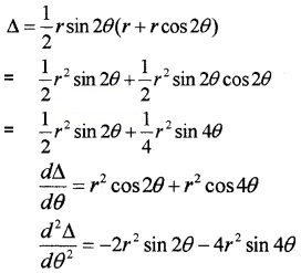 Plus Two Maths Chapter Wise Questions and Answers Chapter 6 Application of Derivatives 6M Q14.1