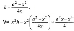 Plus Two Maths Chapter Wise Questions and Answers Chapter 6 Application of Derivatives 6M Q16