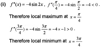 Plus Two Maths Chapter Wise Questions and Answers Chapter 6 Application of Derivatives 6M Q17.1