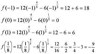 Plus Two Maths Chapter Wise Questions and Answers Chapter 6 Application of Derivatives 6M Q19.1