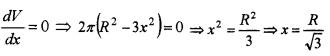 Plus Two Maths Chapter Wise Questions and Answers Chapter 6 Application of Derivatives 6M Q5.2