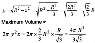 Plus Two Maths Chapter Wise Questions and Answers Chapter 6 Application of Derivatives 6M Q5.4