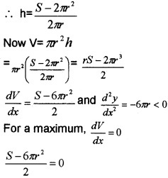 Plus Two Maths Chapter Wise Questions and Answers Chapter 6 Application of Derivatives 6M Q7