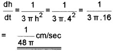Plus Two Maths Chapter Wise Questions and Answers Chapter 6 Application of Derivatives 6M Q8.1