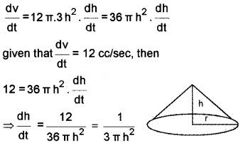 Plus Two Maths Chapter Wise Questions and Answers Chapter 6 Application of Derivatives 6M Q8