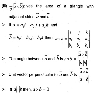 Plus Two Maths Notes Chapter 10 Vector Algebra 13