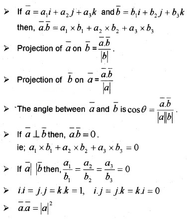 Plus Two Maths Notes Chapter 10 Vector Algebra 8