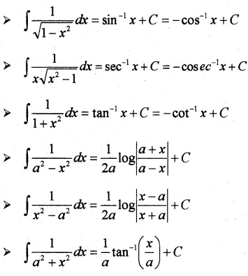 Plus Two Maths Notes Chapter 7 Integrals 1