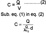 Plus Two Physics Chapter Wise Questions and Answers Chapter 2 Electric Potential and Capacitance 4M Q1.1