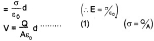 Plus Two Physics Chapter Wise Questions and Answers Chapter 2 Electric Potential and Capacitance 4M Q1