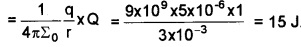 Plus Two Physics Chapter Wise Questions and Answers Chapter 2 Electric Potential and Capacitance 4M Q2.1