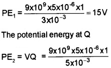 Plus Two Physics Chapter Wise Questions and Answers Chapter 2 Electric Potential and Capacitance 4M Q2.2