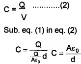 Plus Two Physics Chapter Wise Questions and Answers Chapter 2 Electric Potential and Capacitance 5M Q5.1