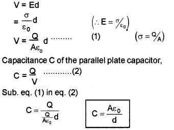 Plus Two Physics Notes Chapter 2 Electric Potential and Capacitance 39