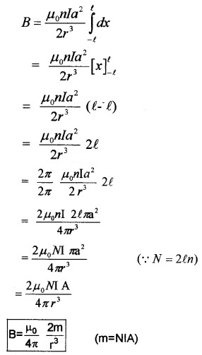 Plus Two Physics Notes Chapter 5 Magnetism and Matter 7