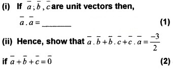 Plus Two Maths Chapter Wise Questions and Answers Chapter 10 Vector Algebra 3M Q10