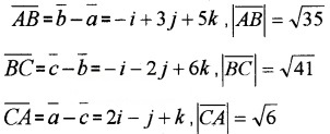 Plus Two Maths Chapter Wise Questions and Answers Chapter 10 Vector Algebra 3M Q3