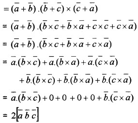 Plus Two Maths Chapter Wise Questions and Answers Chapter 10 Vector Algebra 3M Q4