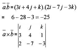 Plus Two Maths Chapter Wise Questions and Answers Chapter 10 Vector Algebra 3M Q6.1
