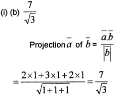 Plus Two Maths Chapter Wise Questions and Answers Chapter 10 Vector Algebra 3M Q8.1