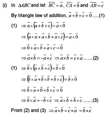 Plus Two Maths Chapter Wise Questions and Answers Chapter 10 Vector Algebra 4M Q4.1