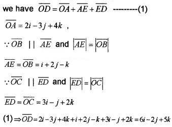 Plus Two Maths Chapter Wise Questions and Answers Chapter 10 Vector Algebra 6M Q1.1