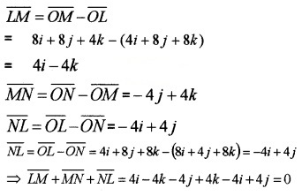 Plus Two Maths Chapter Wise Questions and Answers Chapter 10 Vector Algebra 6M Q2.2