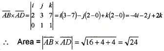 Plus Two Maths Chapter Wise Questions and Answers Chapter 10 Vector Algebra 6M Q4.1