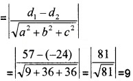 Plus Two Maths Chapter Wise Questions and Answers Chapter 11 Three Dimensional Geometry 4M Q11.1