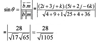Plus Two Maths Chapter Wise Questions and Answers Chapter 11 Three Dimensional Geometry 4M Q12