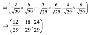 Plus Two Maths Chapter Wise Questions and Answers Chapter 11 Three Dimensional Geometry 4M Q14.2