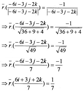 Plus Two Maths Chapter Wise Questions and Answers Chapter 11 Three Dimensional Geometry 4M Q15