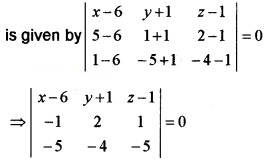 Plus Two Maths Chapter Wise Questions and Answers Chapter 11 Three Dimensional Geometry 4M Q16