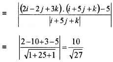 Plus Two Maths Chapter Wise Questions and Answers Chapter 11 Three Dimensional Geometry 4M Q17