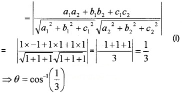Plus Two Maths Chapter Wise Questions and Answers Chapter 11 Three Dimensional Geometry 4M Q2.1