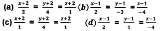 Plus Two Maths Chapter Wise Questions and Answers Chapter 11 Three Dimensional Geometry 4M Q8