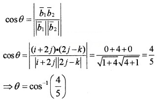 Plus Two Maths Chapter Wise Questions and Answers Chapter 11 Three Dimensional Geometry 4M Q9