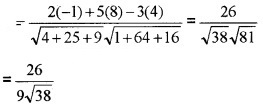 Plus Two Maths Chapter Wise Questions and Answers Chapter 11 Three Dimensional Geometry 6M Q1.2