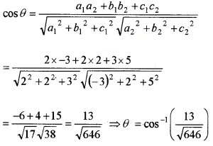 Plus Two Maths Chapter Wise Questions and Answers Chapter 11 Three Dimensional Geometry 6M Q7.2