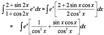 Plus Two Maths Chapter Wise Questions and Answers Chapter 7 Integrals 3M Q2