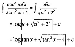 Plus Two Maths Chapter Wise Questions and Answers Chapter 7 Integrals 3M Q3
