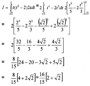 Plus Two Maths Chapter Wise Questions and Answers Chapter 7 Integrals 3M Q4.5