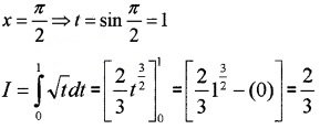 Plus Two Maths Chapter Wise Questions and Answers Chapter 7 Integrals 3M Q4.6