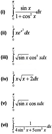 Plus Two Maths Chapter Wise Questions and Answers Chapter 7 Integrals 3M Q4